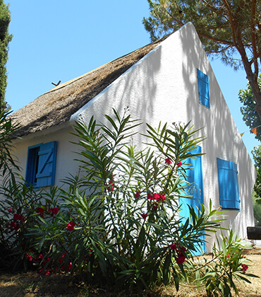 Camarguaise house rental located in Palavas