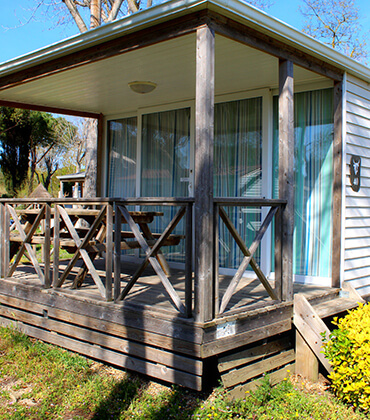 Abrivado mobile home rental located in Montpellier