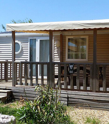 Bandido mobile home rental located in Montpellier